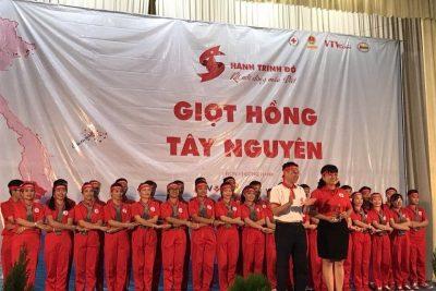 """Ngành Giáo dục huyện tham gia Chương trình """"Hành trình đỏ"""", Ngày Hội """"Giọt hồng Tây Nguyên"""" 2017"""