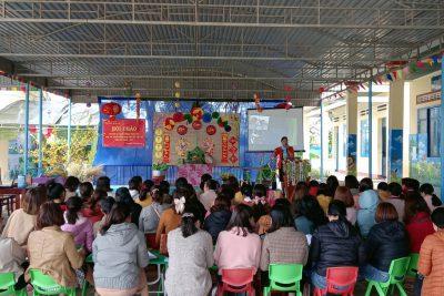 """Hội thảo chuyên đề """"Xây dựng mô hình tăng cường tiếng Việt cho trẻ em người dân tộc thiểu số"""" năm học 2020-2021"""