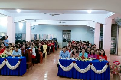 Phòng Giáo dục và Đào tạo huyện Ea Kar tổ chức Hội thi giáo viên dạy giỏi cấp huyện bậc học mầm non năm học 2020-2021.