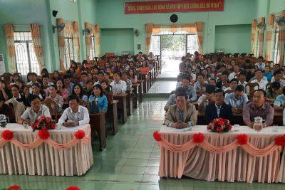 Phòng Giáo dục và Đào tạo huyện Ea Kar tổ chức Tổng kết Hội thi giáo viên dạy giỏi cấp huyện bậc Trung học cơ sở năm học 2020-2021.