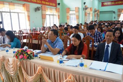 Huyện Ea Kar tổng kết năm học 2017 – 2018 và triển khai nhiệm vụ năm học 2018 – 2019