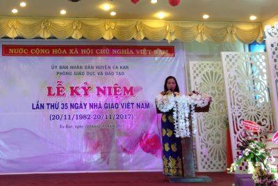 Một số hình ảnh lễ kỷ niệm ngày nhà giáo Việt Nam 20/11/2017