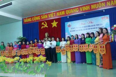 """Hội thi """"Học tập và làm theo tư tưởng, đạo đức, phong cách Hồ Chí Minh"""" dành cho cán bộ, giáo viên mầm non huyện Ea Kar"""